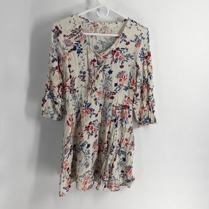 Mudd Floral Top S